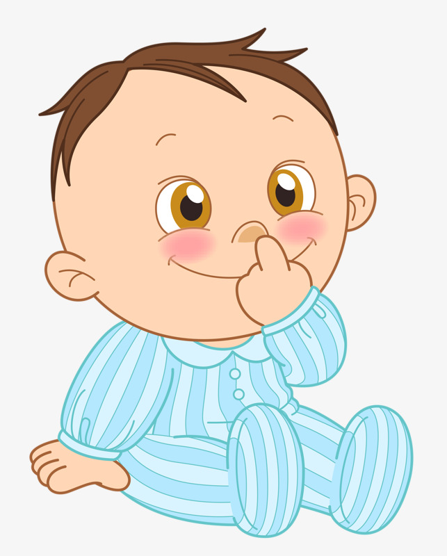 Cute Baby Boy Clipart Png.