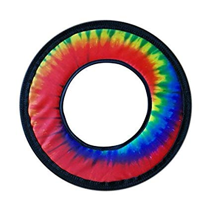 Tie Dye Fabric Frisbee Flying Ring 10\