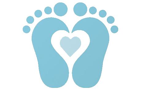 Baby Footprint Clip Art.