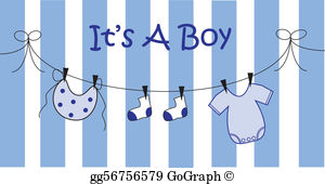 Baby Boy Clip Art.
