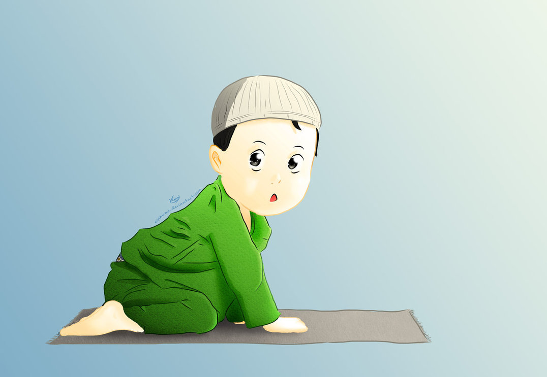 Baby Muslim Clipart.
