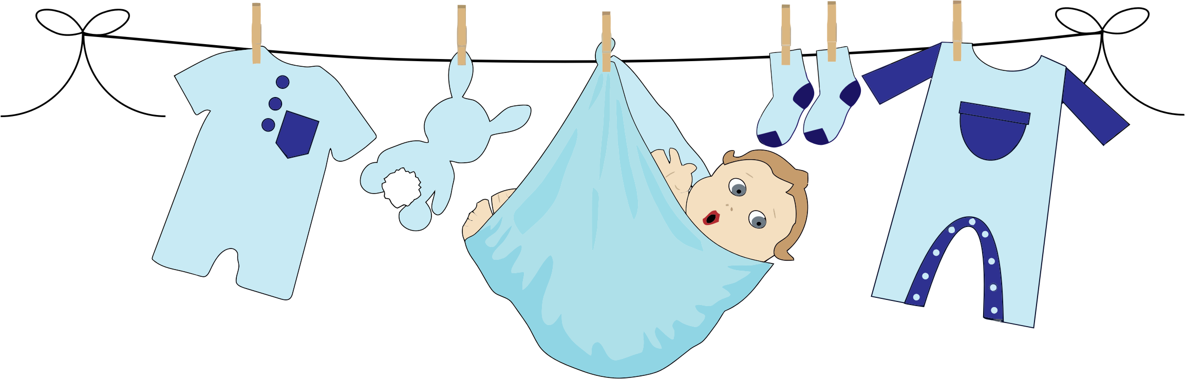Baby Boy Clipart Png Jpg Free #46749.