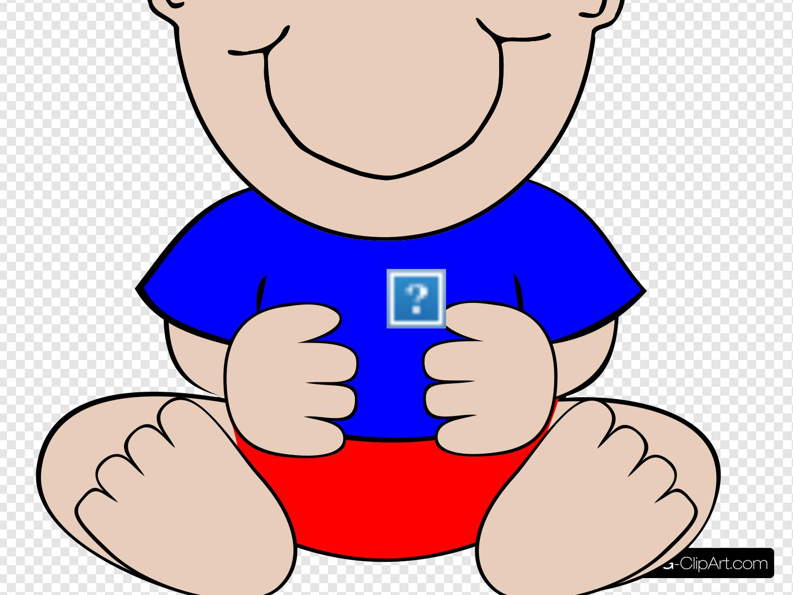 Baby Boy Clip art, Icon and SVG.