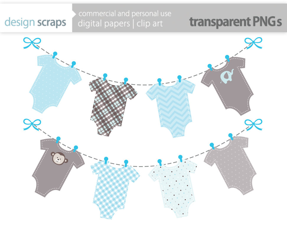 Digital Download Discoveries for BABY CLOTHES from EasyPeach.