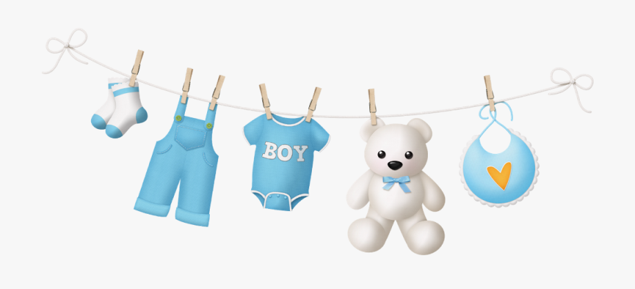 Png Library Download Baby Boy Clothes Line Png.