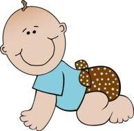 Baby Boy Diaper Clip Art N3 free image.