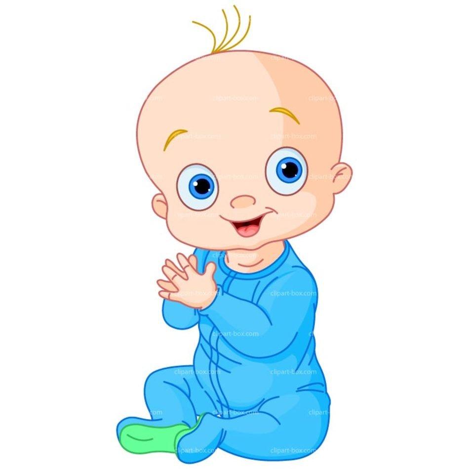 Baby Boy Clip Art N4 free image.
