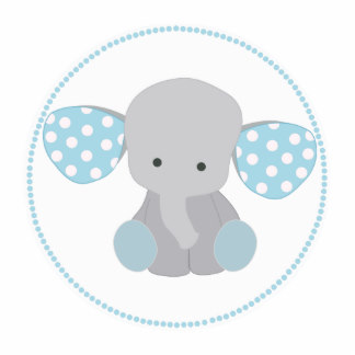 2590 Baby Elephant free clipart.