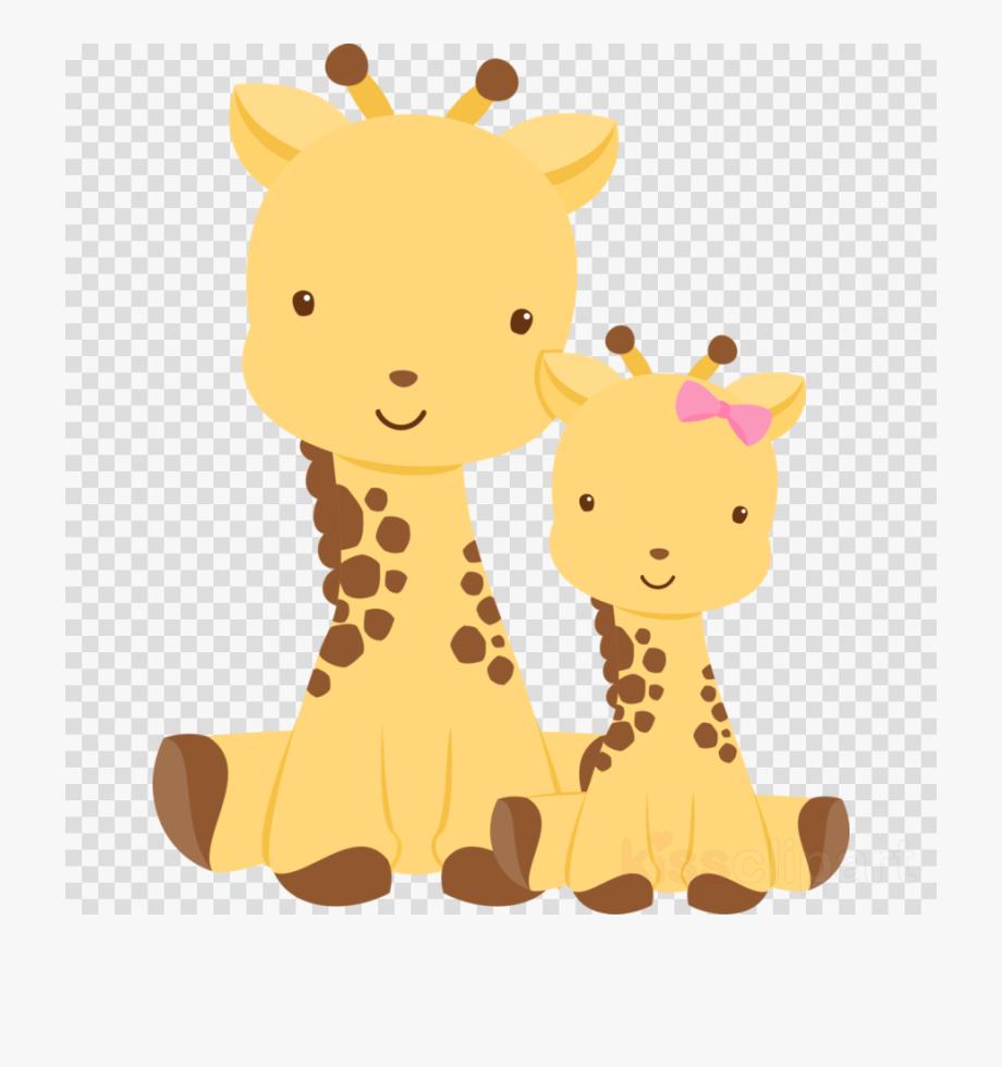 Giraffe Clipart Baby Boy.