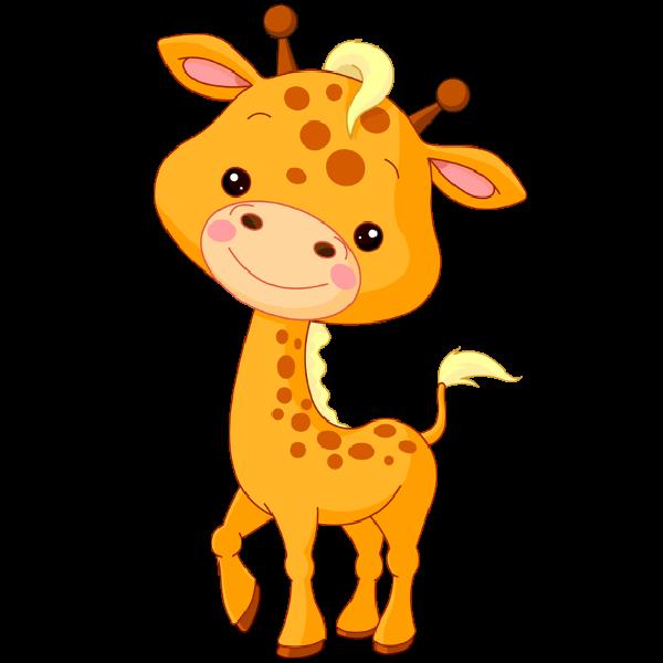 Giraffe Baby Clipart.
