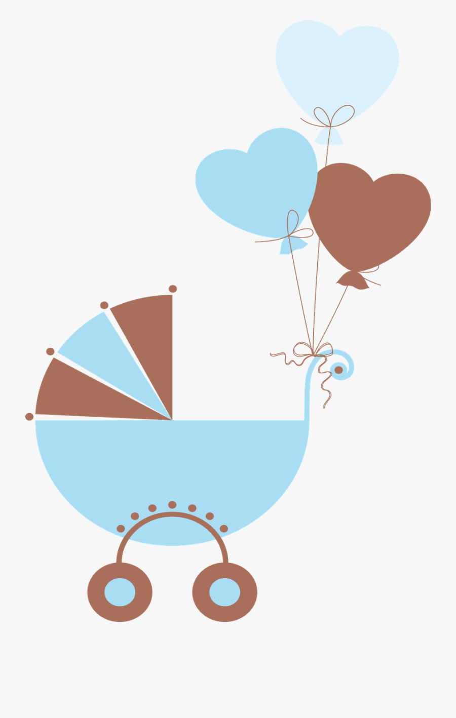 Baby Boy Carriage Clipart , Free Transparent Clipart.