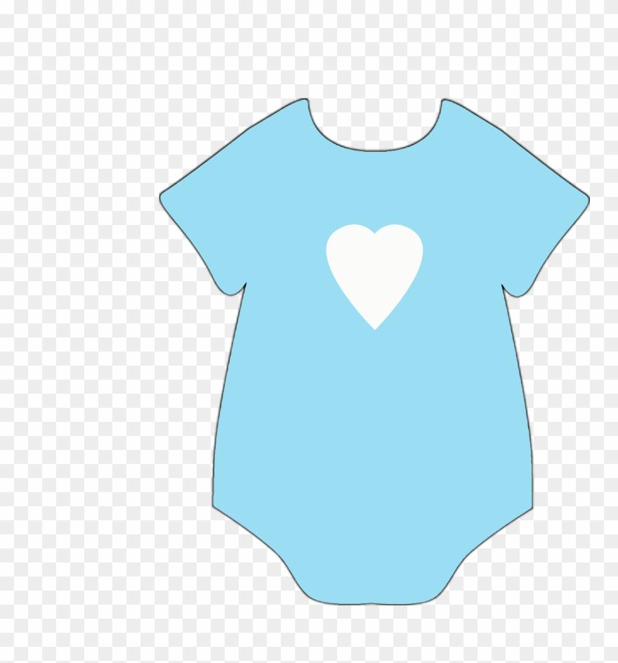 Free Baby Shower Clipart Stickers Boy Bibs.