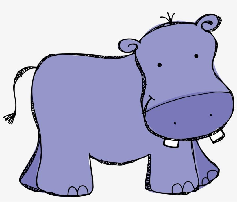 Clip Art Hippo Cute Hippopotamus Clipart Baby Shower.