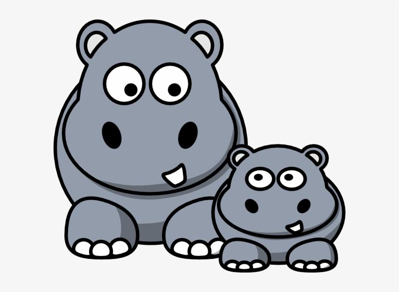 Image Of Baby Hippo Clipart 3614 Hippo Clip Art Clipartoons.