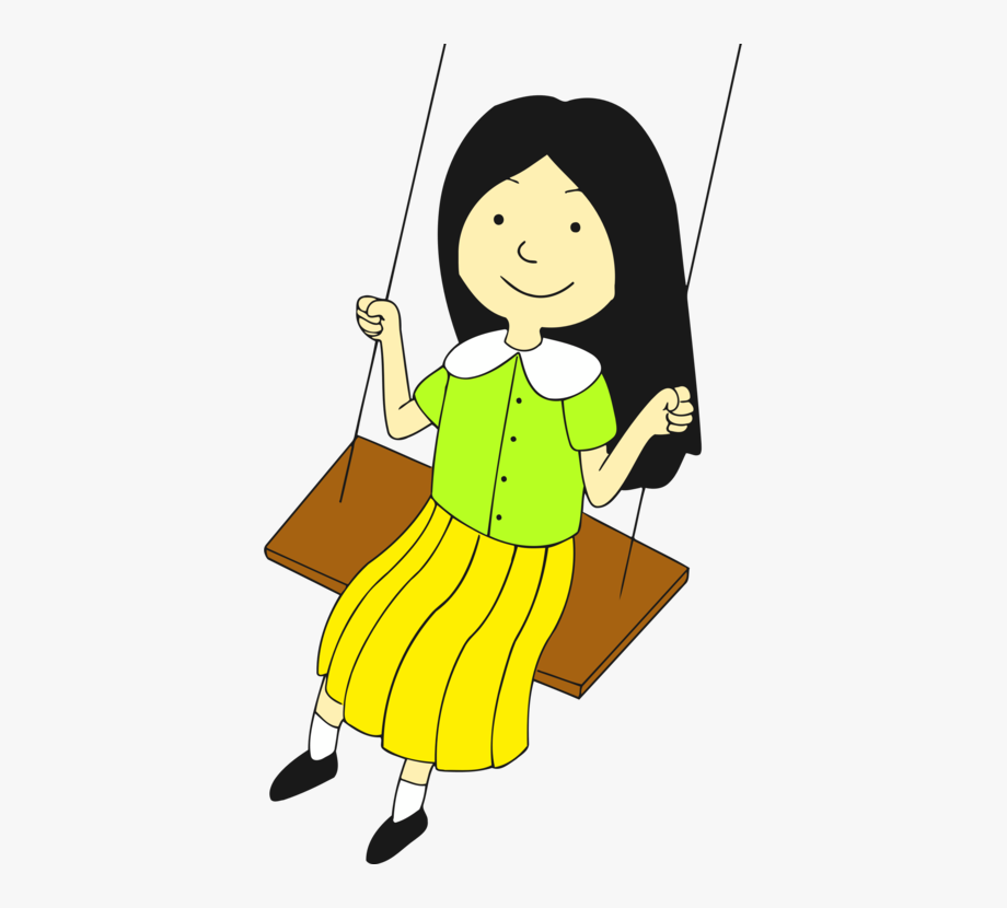 Child Drawing Infant Play Swing.