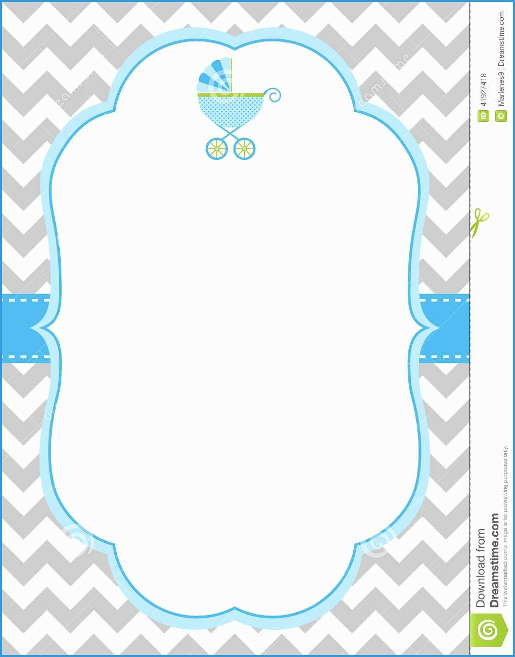 baby boy invitation templates.