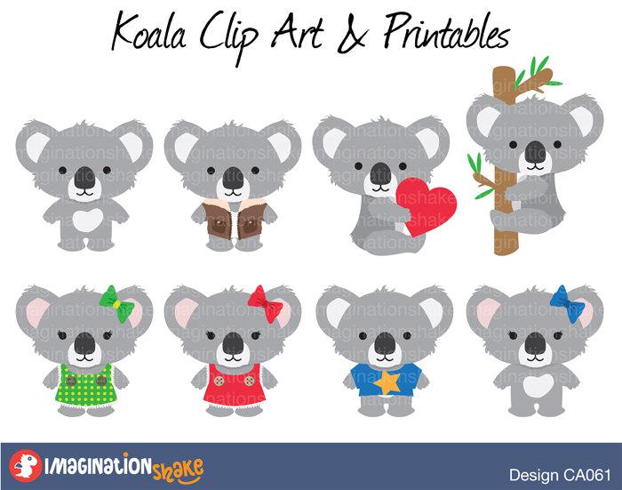 Koala Art And Design : Baby boy koala clipart clipground