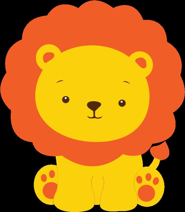 Lion Clip Baby Boy.