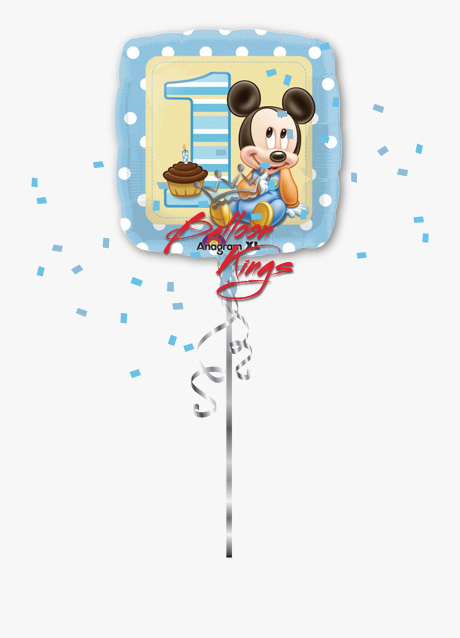 1st Birthday Boy Baby Mickey.