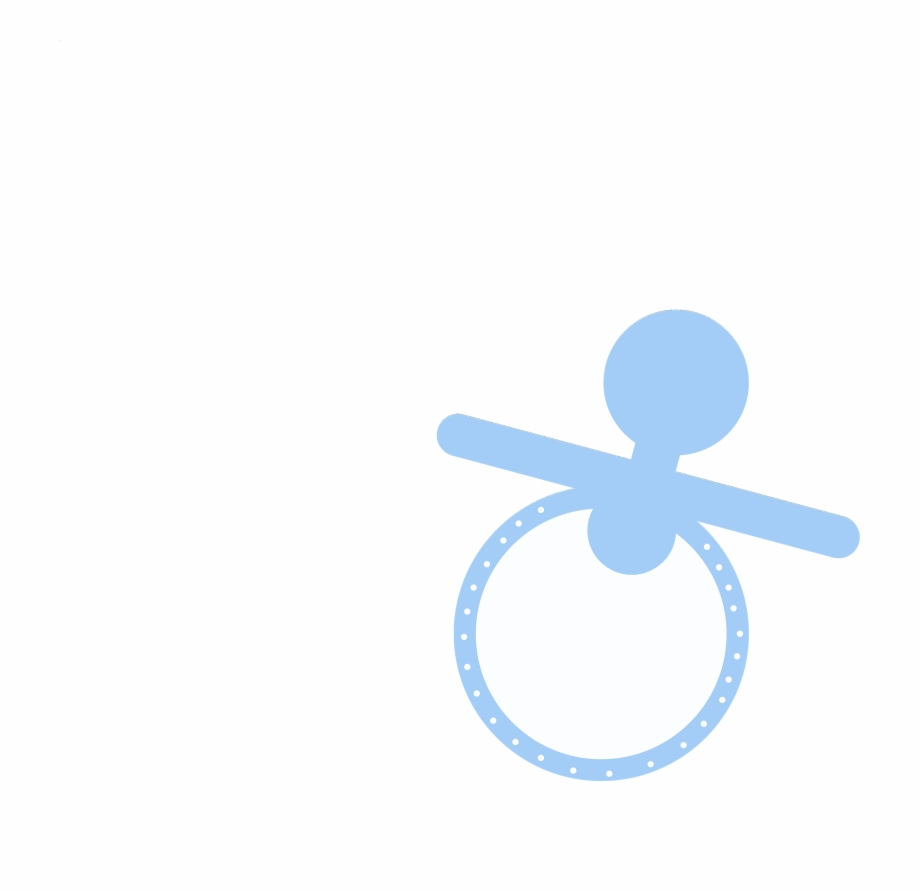 Free Baby Shower Clipart Cute Boy Pacifiers Baby.