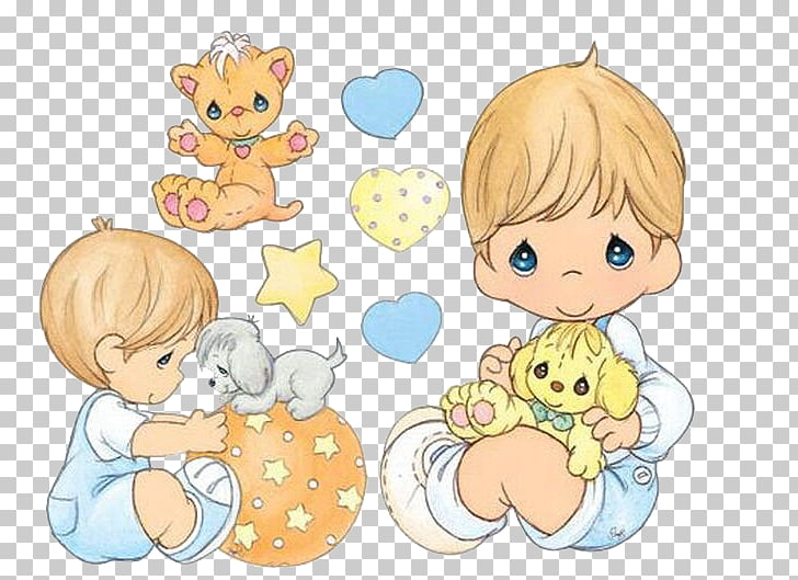 Precious Moments, Inc. Infant Diaper Drawing, baby, Precious.