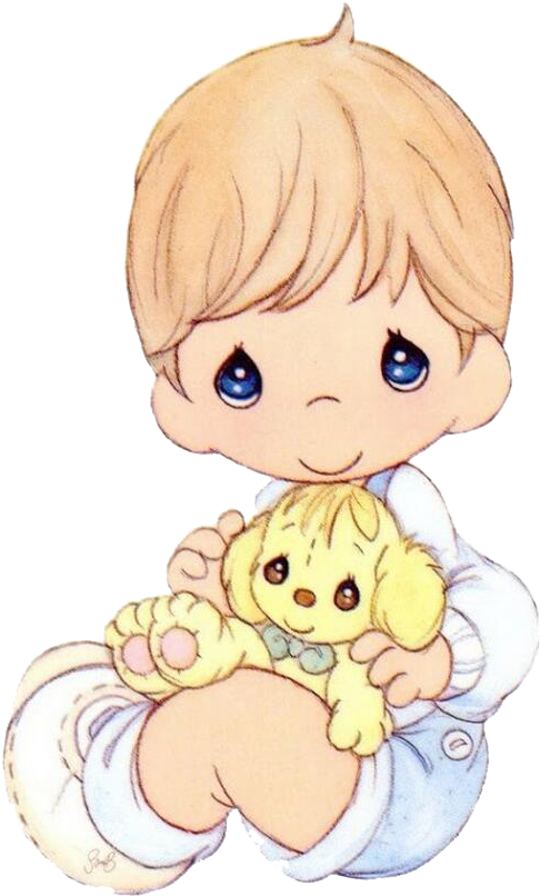 Clipart Wallpaper Blink Precious Moments Baby Png.