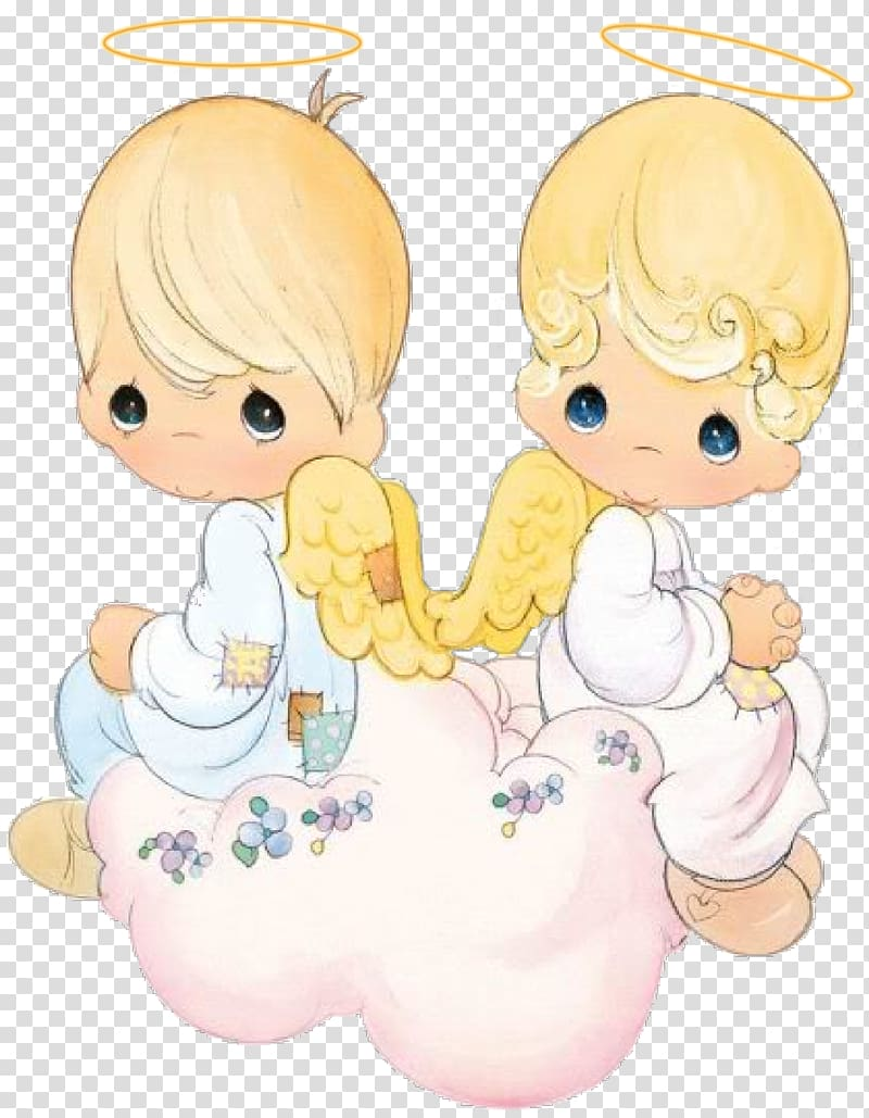 Precious Moments, Inc. Sticker Art Glitter, batism.