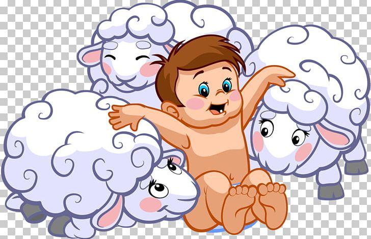Sheep Shepherd Illustration PNG, Clipart, Animals, Area, Art.
