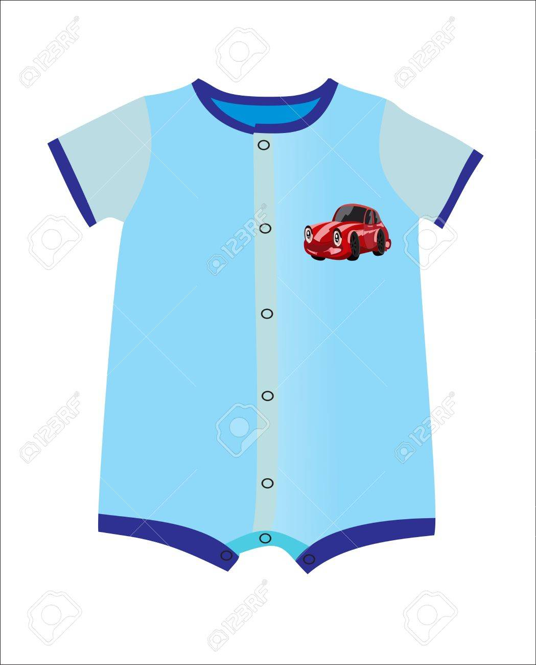 71373 Baby free clipart.