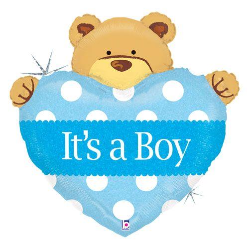 Boy Teddy Bear.
