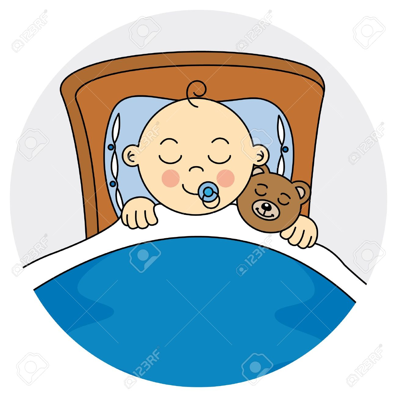 Baby Boy Sleeping Clipart Clipground