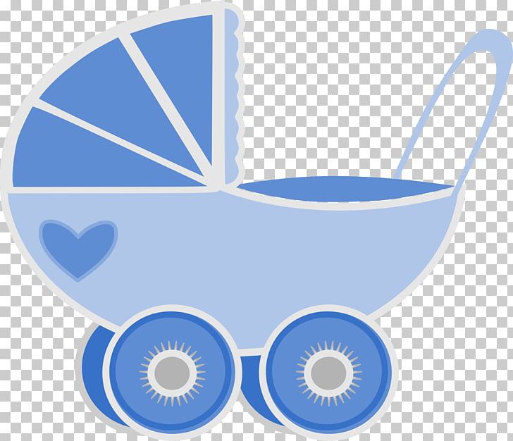 Infant Boy Baby Transport , pram baby, blue and white.