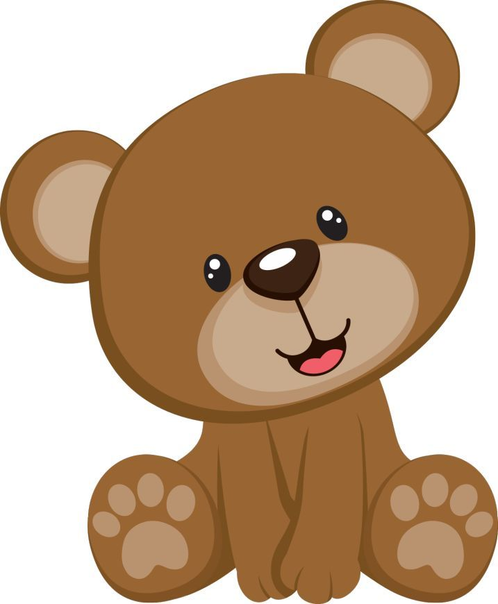 Baby Bear Clipart Teddy Bear Clipart Ba Shower Pencil And In.