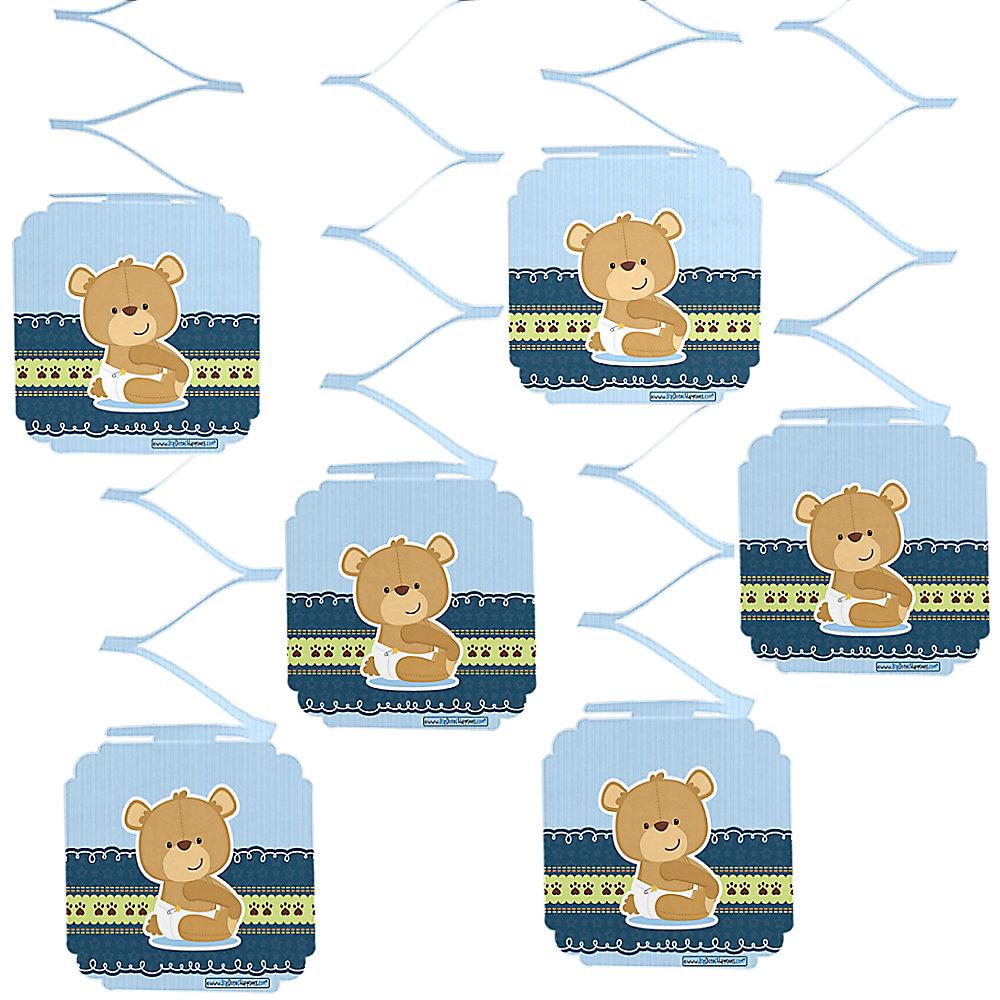 Baby Boy Teddy Bear.