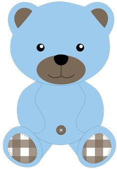 Baby Boy Teddy Bear Clipart.
