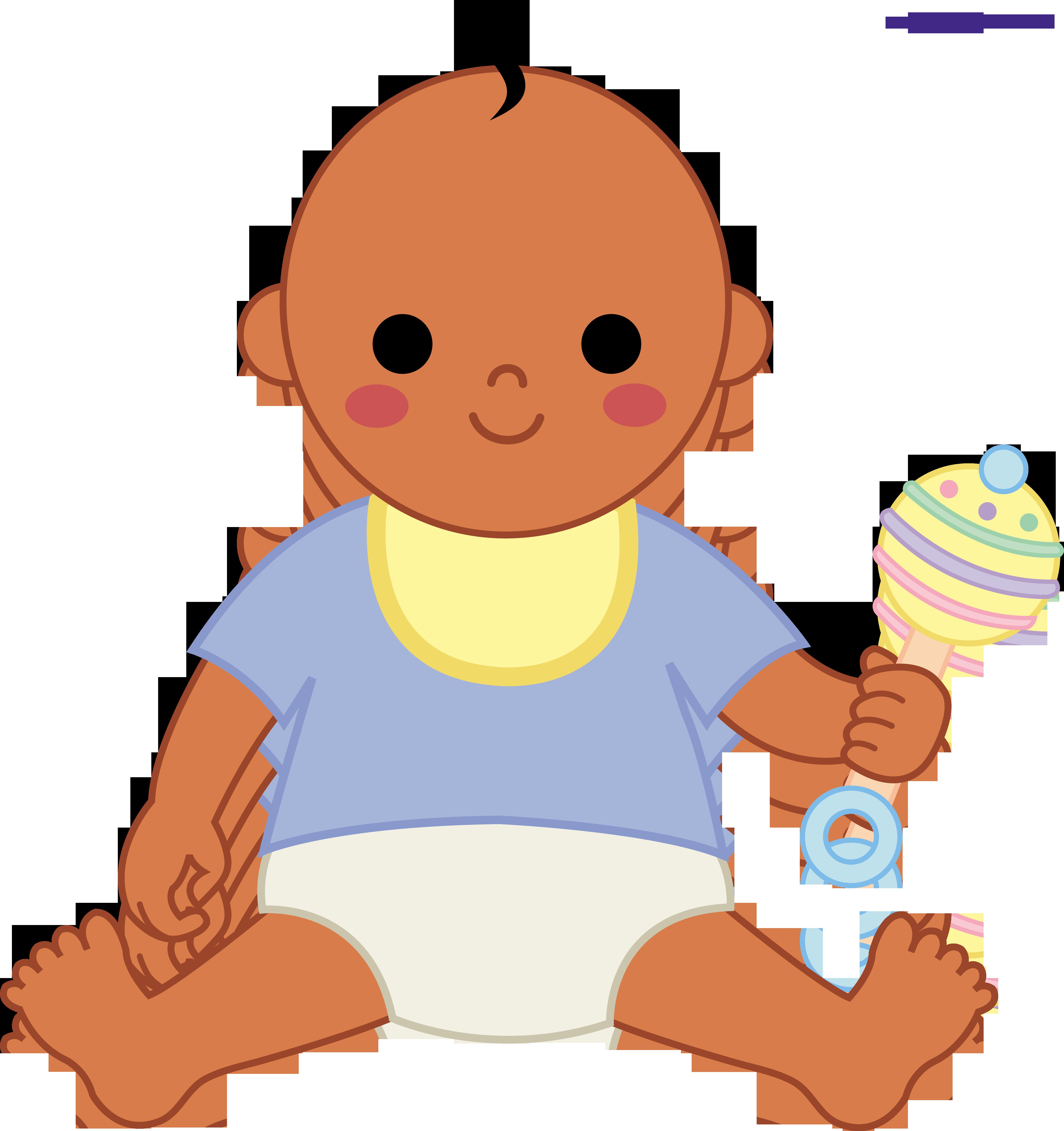 Baby Boy 2 Clipart.