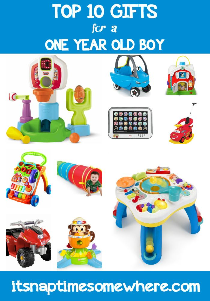 Top 10 Gifts for a One Year Old Boy.