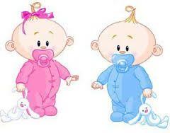Baby Twins Boy & Girl.