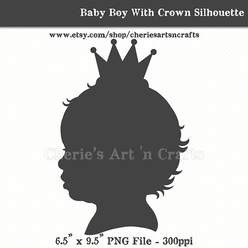 Baby Boy With Crown.