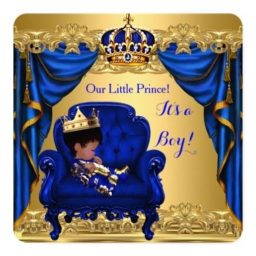 Custom Royal Baby Shower Invites Templates Babyfavors U Baby Boy.