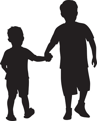 Free Brother Clipart Black And White, Download Free Clip Art.