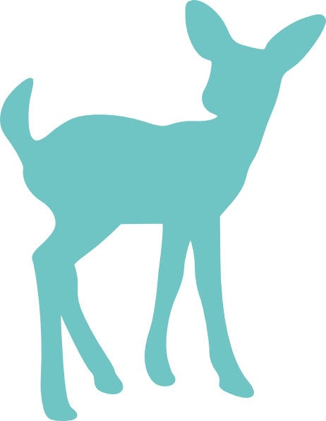 deer clip art printable.