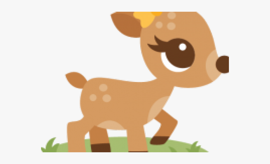 Clip Art Baby Deer Clipart.
