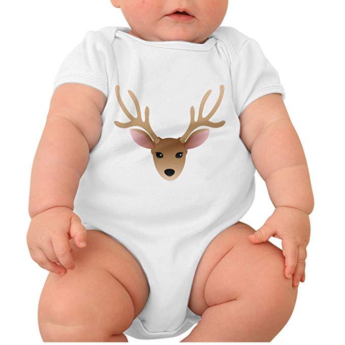 Amazon.com: Zhangyuyu Buck Clipart Moose Head Short Sleeve.