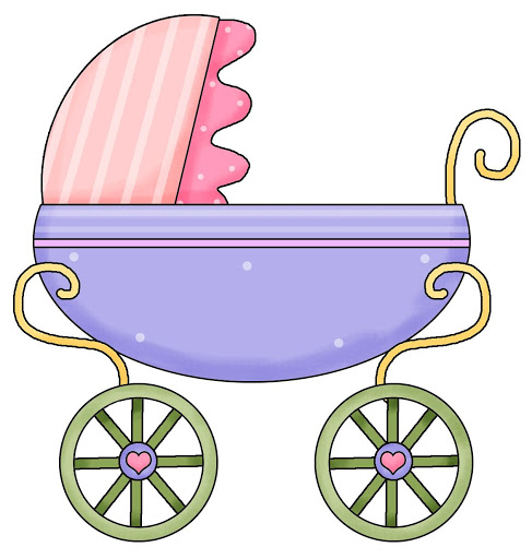 Baby Carriage Clipart.