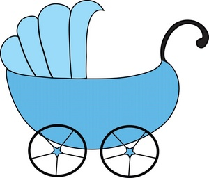 Baby buggy clipart free.