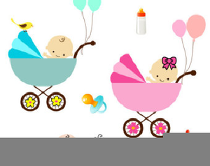 Clipart Baby Buggy.