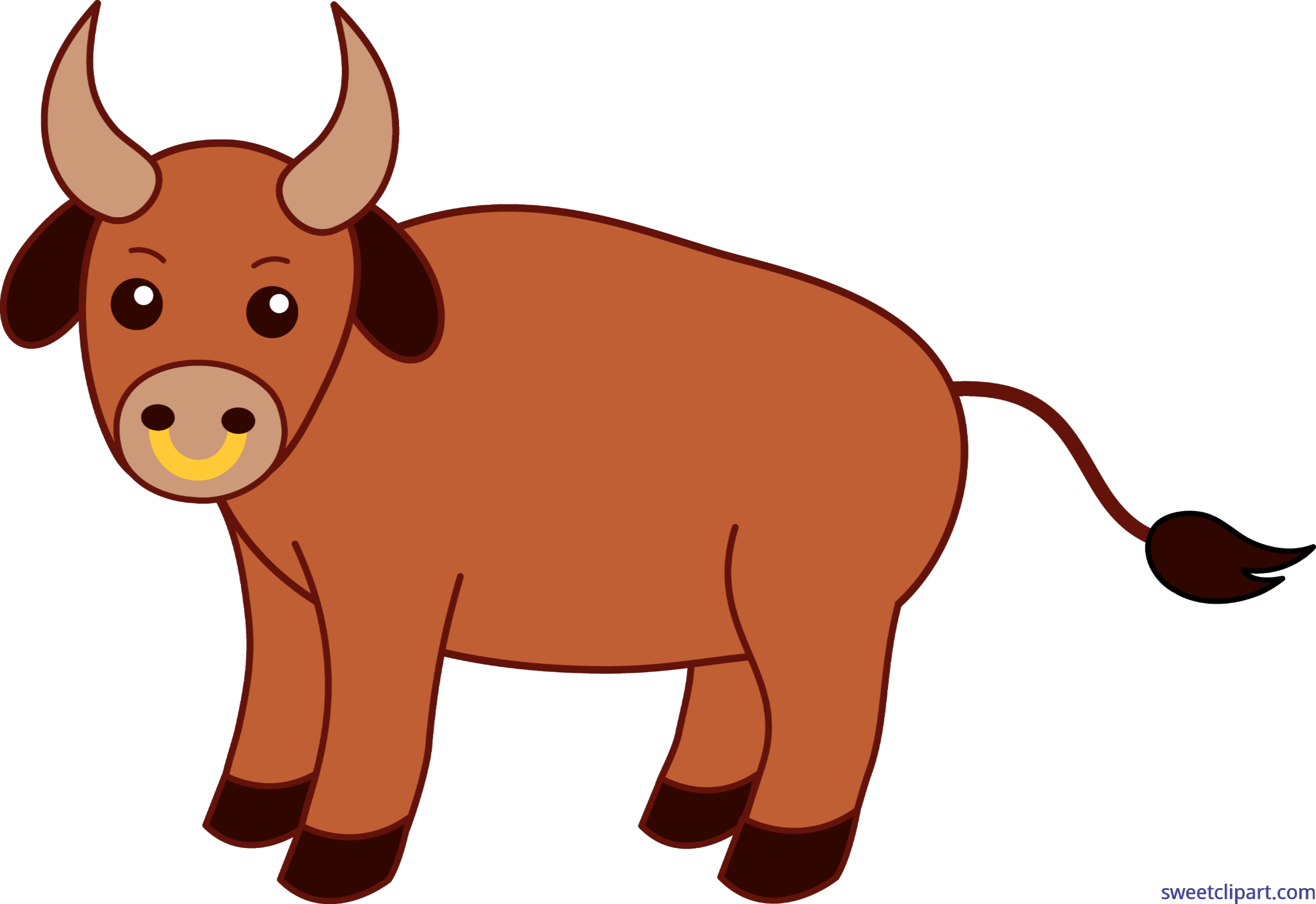 Clipart cow bull, Clipart cow bull Transparent FREE for.