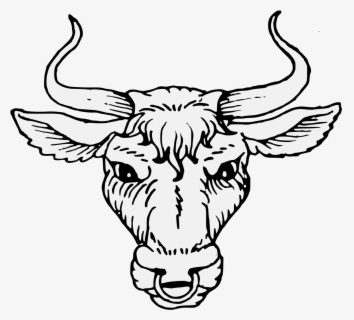 Free Bull Head Clip Art with No Background.