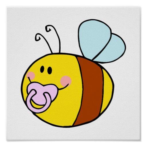 Baby Bumble Bee Clip Art.